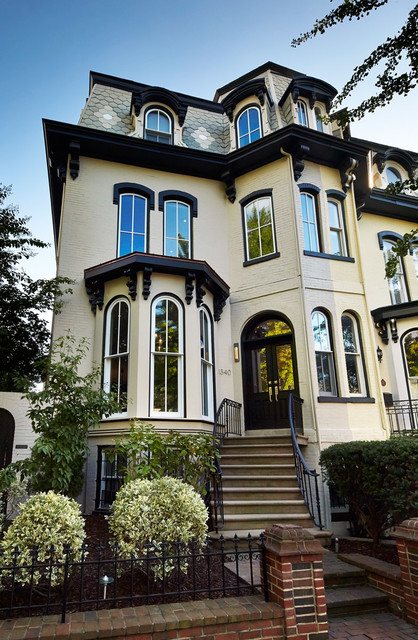 03 Corcoran House Victorian Exterior Dc Metro By