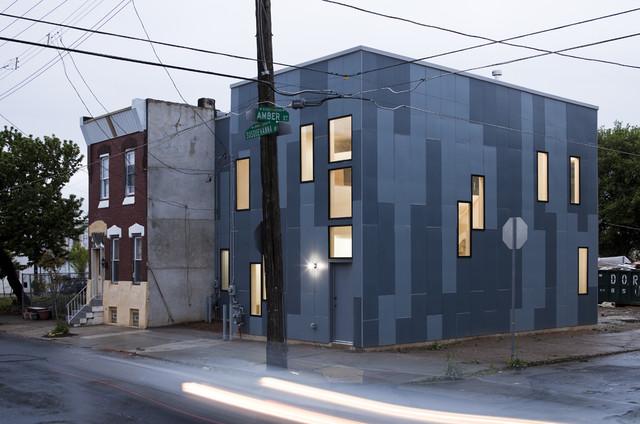 100K House Exterior industrial-exterior