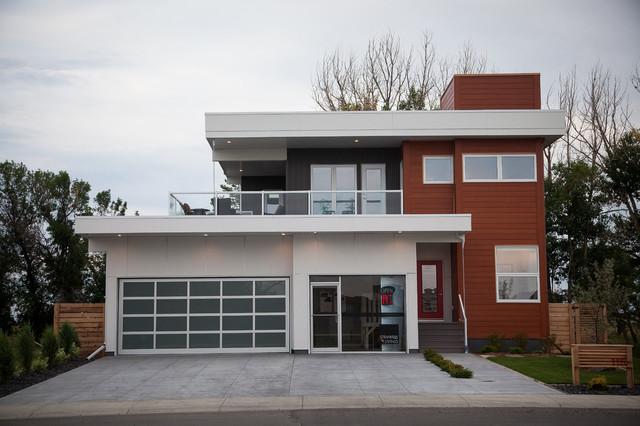 118 Sixmile Ridge - Contemporary Show Home contemporary-exterior