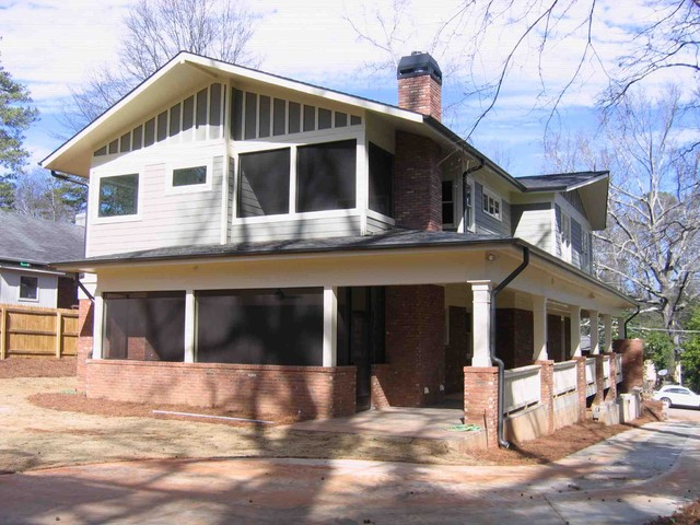 128 West Benson Street Residence traditional-exterior