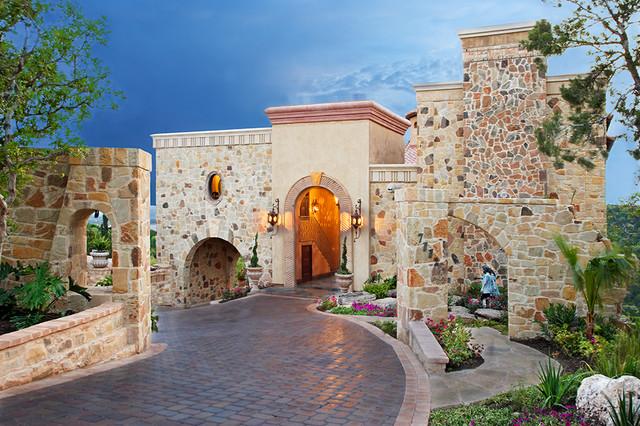 13229 Villa Montana mediterranean-exterior
