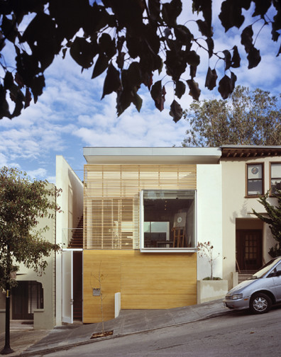 1532 House contemporary-exterior