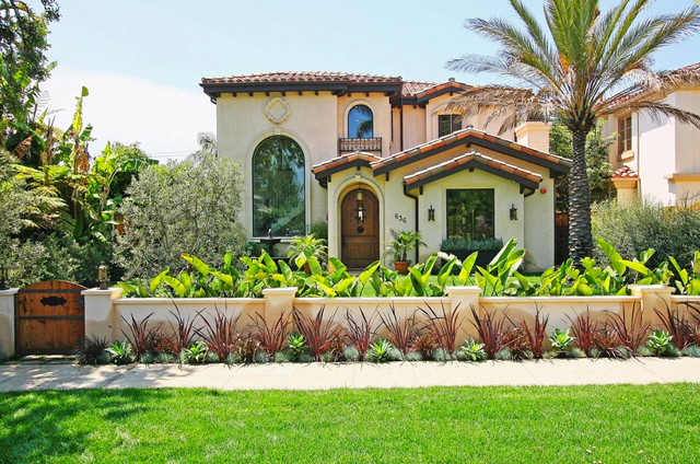 Exterior window trim ideas for stucco - Mediterranean Exterior Los Angeles By Royal Stone Amp Tile