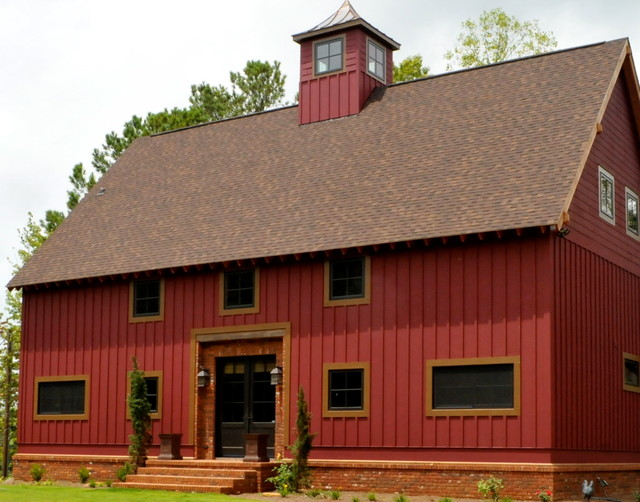 1830's Timber Frame Conversion - Historic Flooring traditional-exterior
