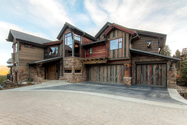19 Peak Eight Circle Rustic Exterior Denver By