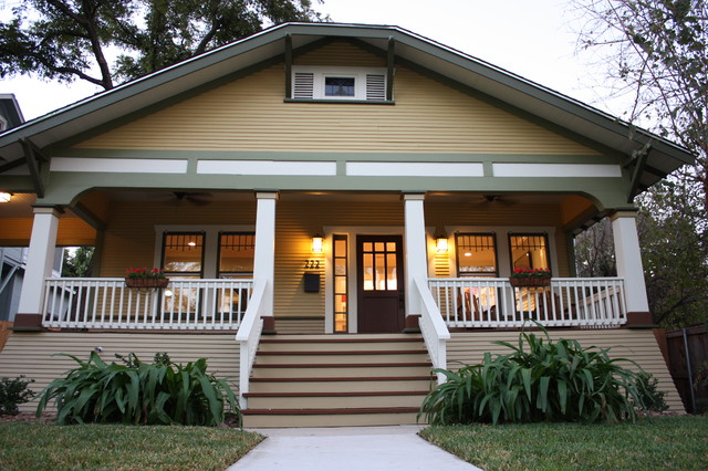 1920 39 s craftsman bungalow traditional exterior san for Craftsman style homes exterior photos