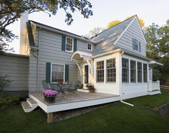 1940's Colonial Revival Remodel - Exterior traditional-exterior