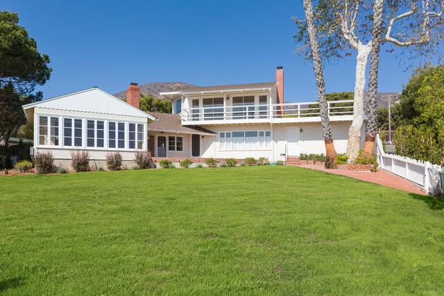 1940 39 s malibu beach house restoration for 1940s homes exterior design