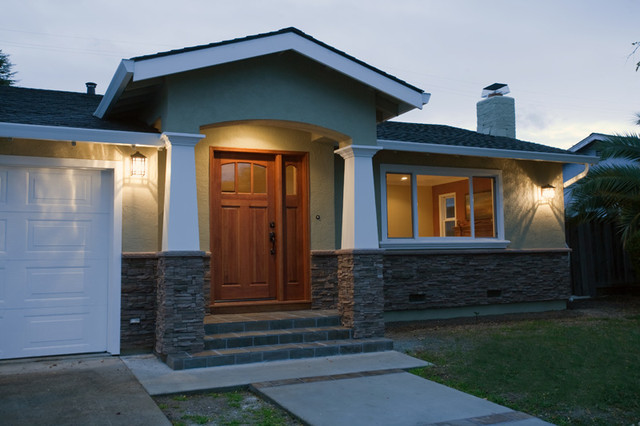 1950 39 S California Ranch Remodel Traditional Exterior