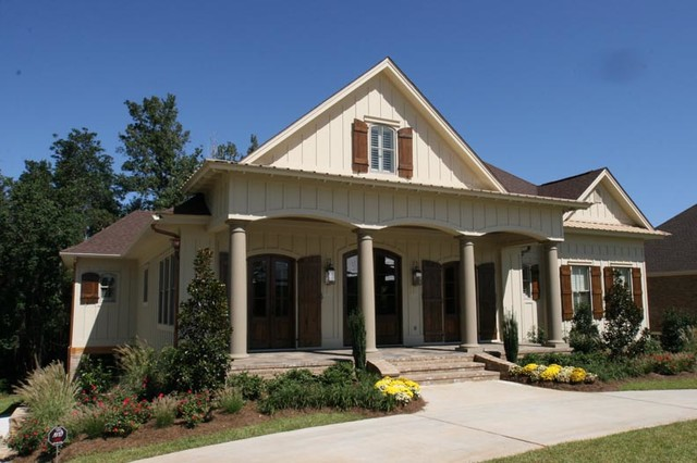 2007 showcase home traditional exterior other metro for Bob chatham house plans