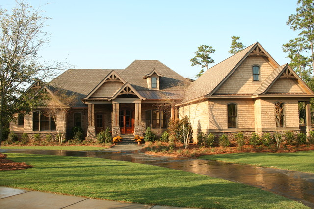 2008 showcase home craftsman exterior other metro for Bob chatham house plans