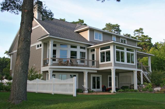 2009 Custom Built Home traditional-exterior