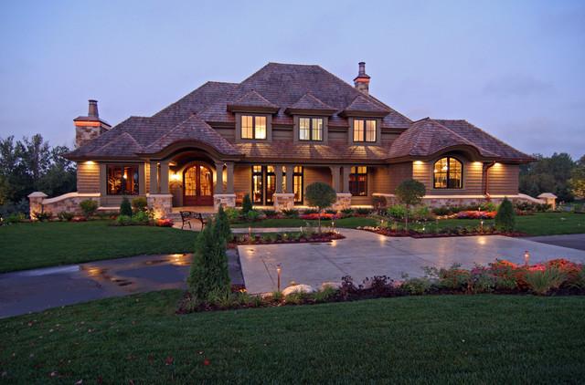Contemporary exterior home idea in Minneapolis