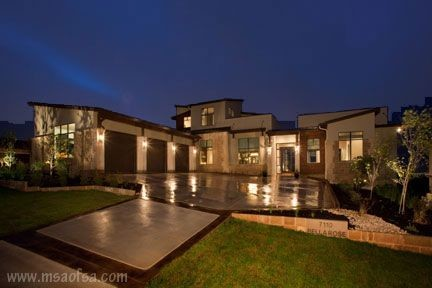 2010 parade of homes cresta bella san antonio texas contemporary exterior