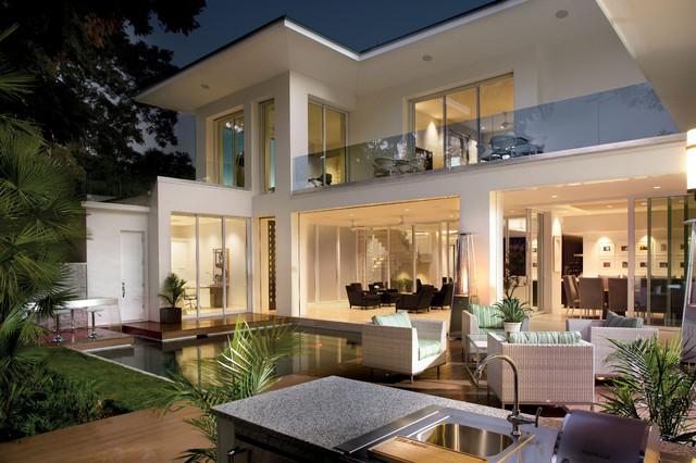 2012 New American Home contemporary-exterior