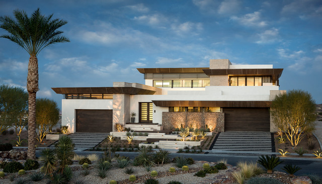 2013 New American Home Contemporary Exterior Las