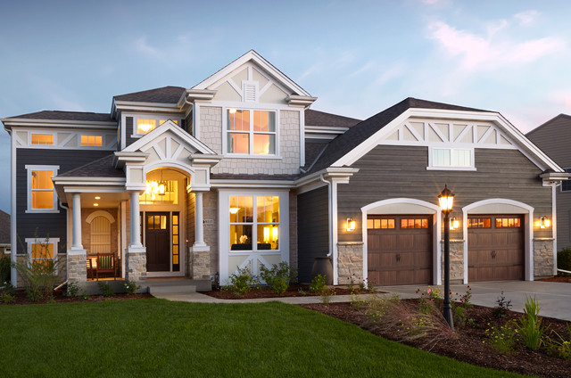2013 Parade Of Homes Birchwood Traditional Exterior