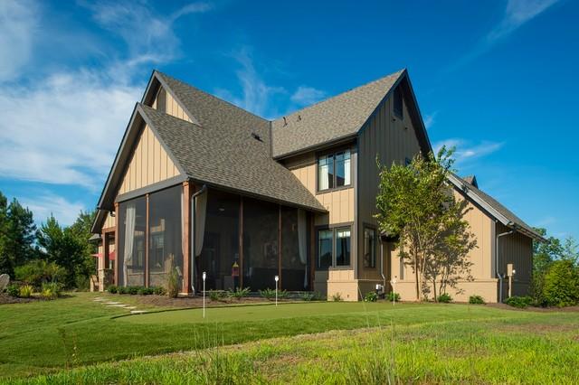 2013 Southern Living Custom Builder Showcase Home by Dillard-Jones Builders craftsman-exterior