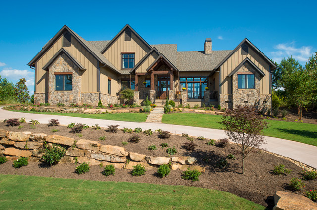 2013 southern living custom builder showcase home by for Craftsman home builders atlanta