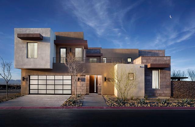 2014 New American Home Contemporary Exterior Las