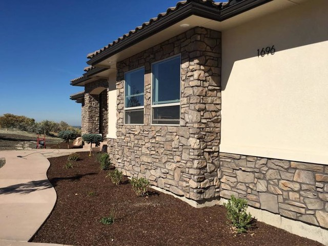 Traditional exterior home idea in Boise