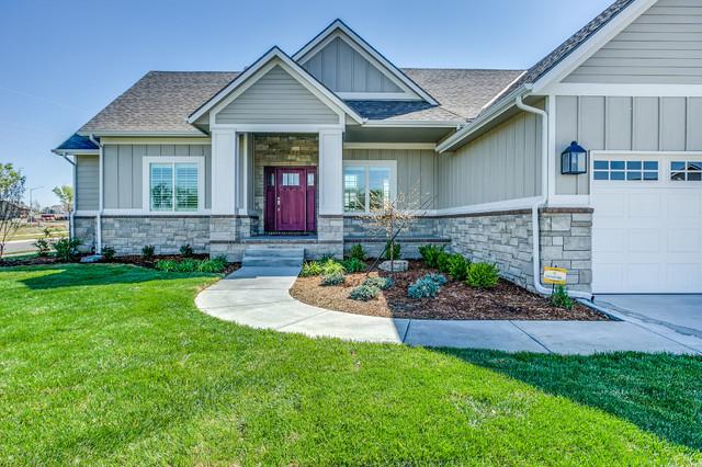 2016 Wichita St Jude Dream Home Farmhouse Exterior
