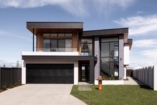 75 Most Popular Modern Exterior With A Gable Roof Design Ideas For October 2020 Stylish Modern Exterior With A Gable Roof Remodeling Pictures Houzz Au