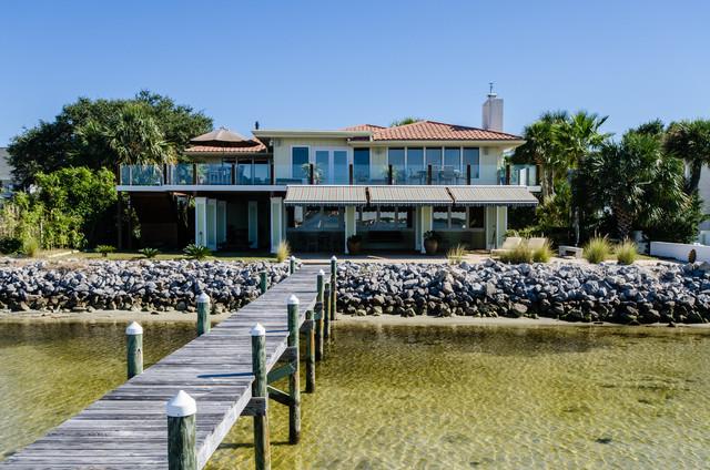 259 Sabine Pensacola Beach Fl Tropical Exterior