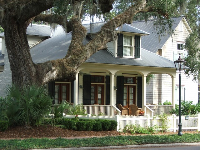 27 aiken street traditional exterior atlanta by for Our town house plans