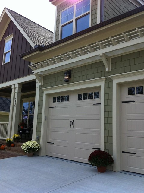 #27 Chapel Hill, NC Design for New Home Construction traditional-exterior