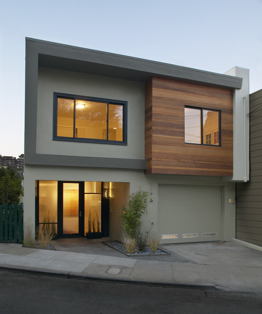 30th street residence modern exterior san francisco for Modern homes san francisco