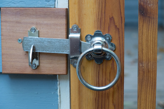 316 Stainless Steel Gate Latch With Ring Contemporary