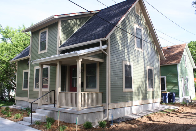 """319 Freyling Place Project - LEED for Homes """"Platinum"""" traditional-exterior"""