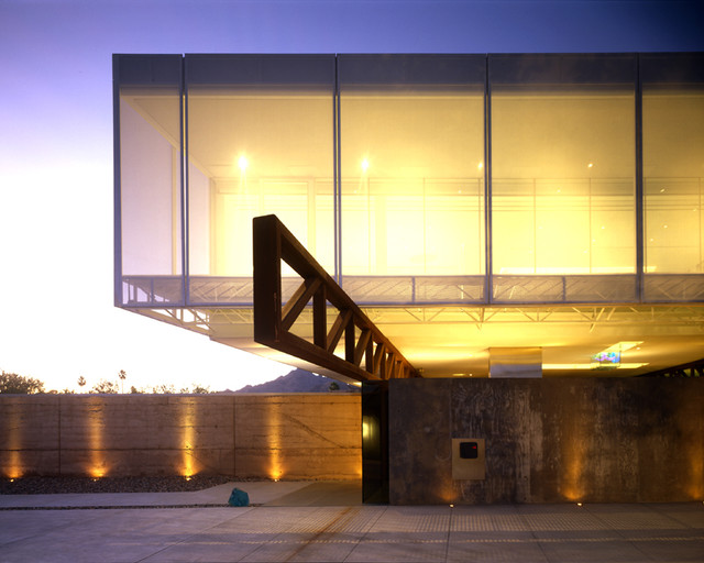 3300 / Linde Residence - Modern - Exterior - phoenix - by the construction zone, ltd.