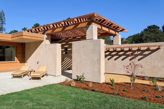 4 - Portola Valley Residence mediterranean-exterior