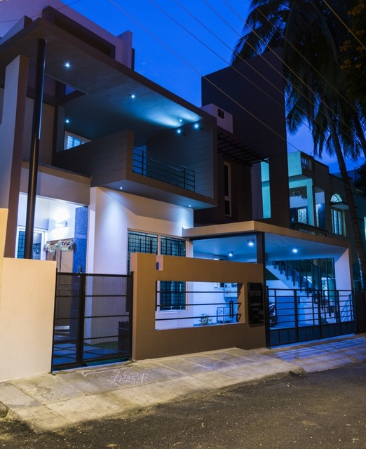 40x50 residence design architects in bangalore modern for Design4 architects bangalore