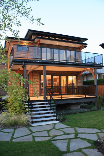 425 e 16th st contemporary exterior vancouver by for Modern glass porch designs