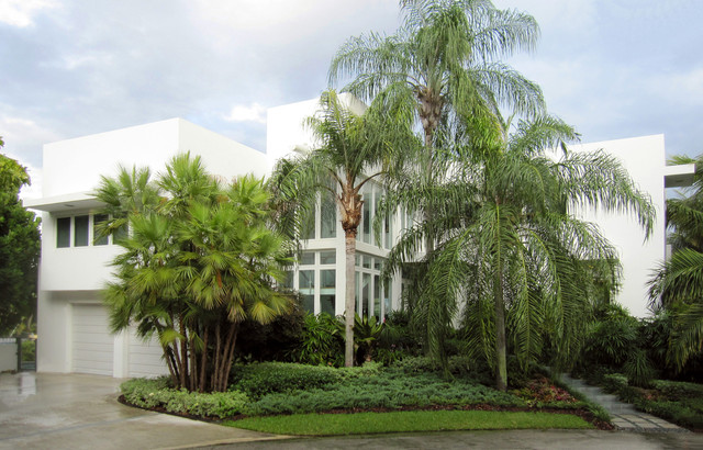 450 architects - Coral Gables Residence modern-exterior