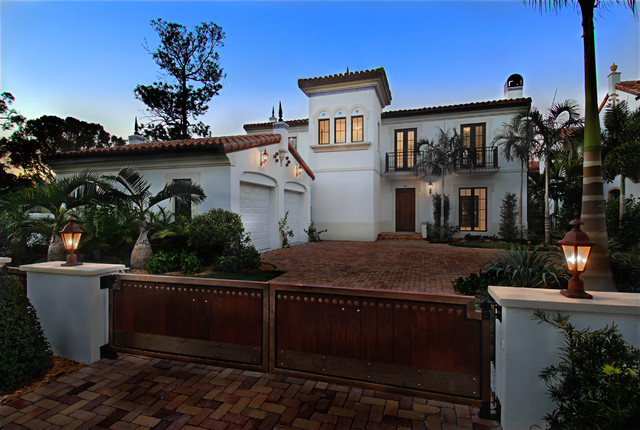 5,000+ s.f. Residence in Coral Gables, FL mediterranean-exterior