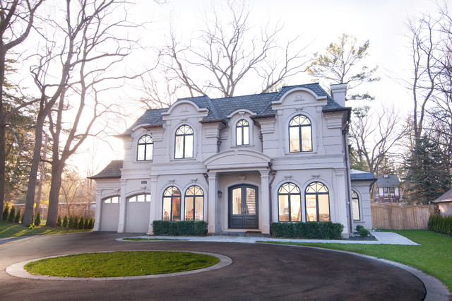 521 Lakeshore Road E. Oakville, Ontario - Traditional - Exterior - Toronto - by Mase Gold Group ...