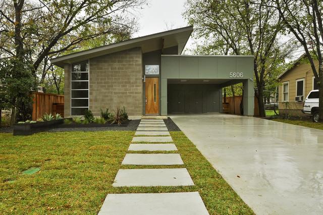 5606 Jeff Davis Street midcentury-exterior