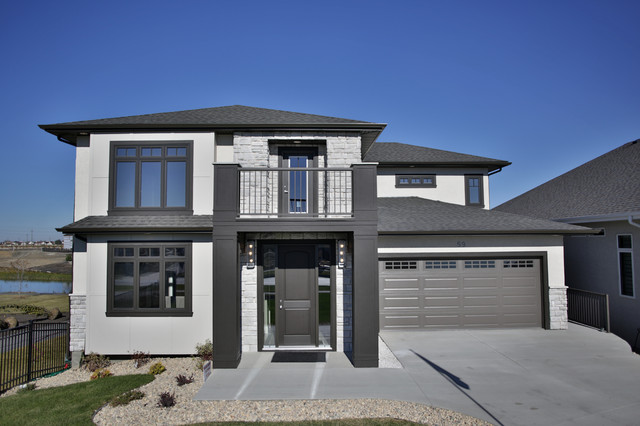 59 Bridgewater Lakes, Winnipeg contemporary-exterior