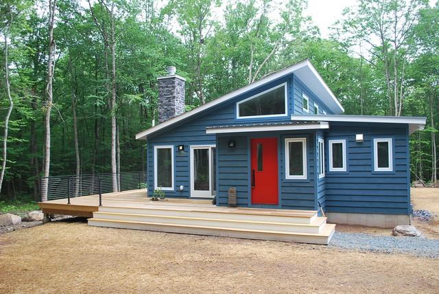 Mid Century Ranch 6 mid-century ranch homes - midcentury - exterior - new york -