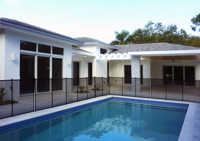 6900 SW 92 St - Pinecrest South Florida project Exteriors contemporary exterior