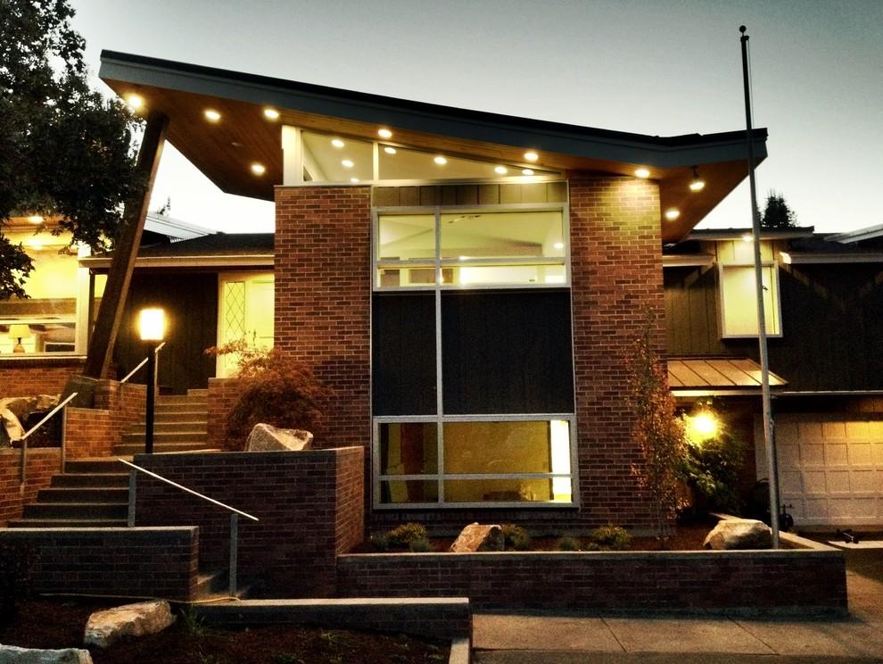 Minimalist exterior home photo in Salt Lake City