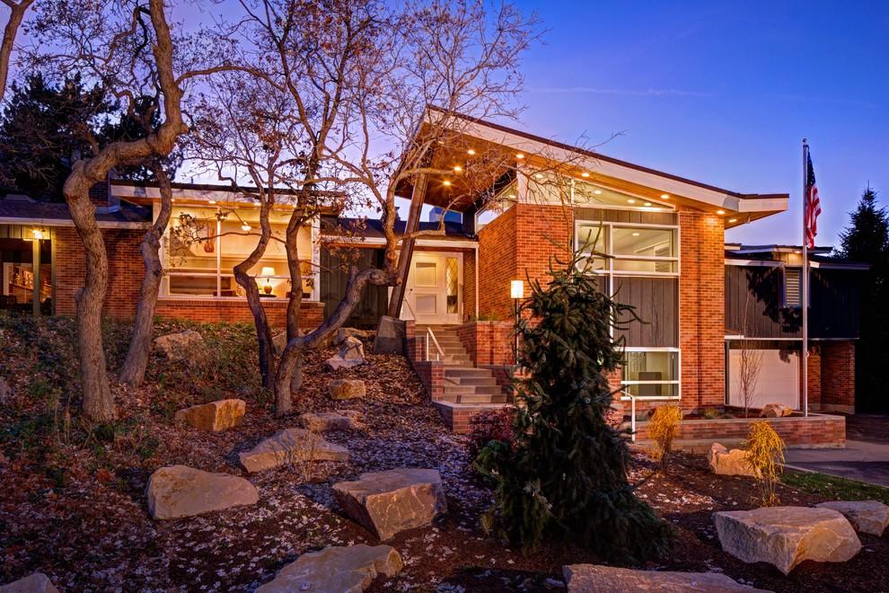Modern exterior home idea in Salt Lake City