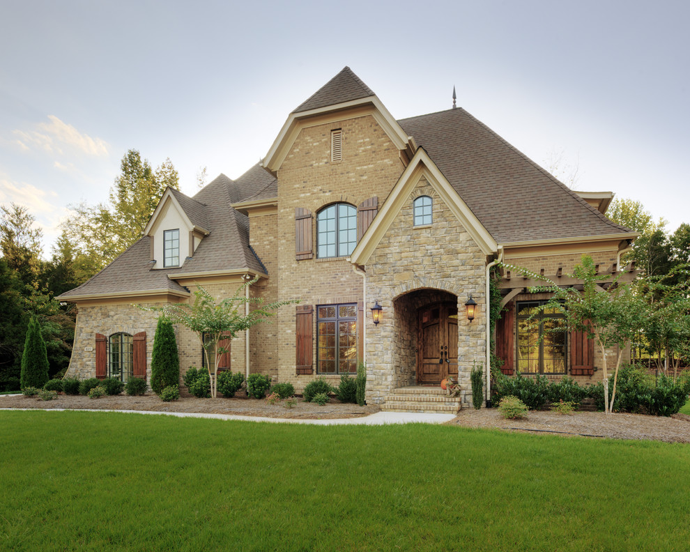 Inspiration for a timeless exterior home remodel in Charlotte