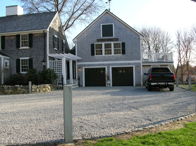A Dover Ma Addition Garage Master Bedroom Suite Master Deck Entry Foyer Po Traditional
