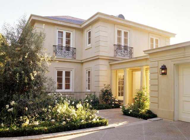 A french country house traditional exterior san for French country house exterior