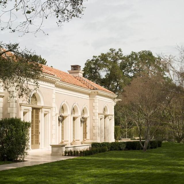 A Greek Villa traditional-exterior